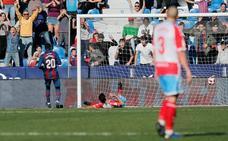 El Levante sufre hasta el final para derrotar a un peligroso Lugo