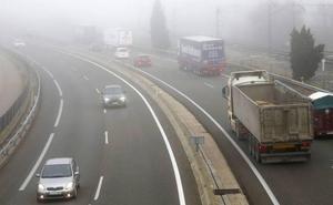 El frío y la niebla ponen en alerta este jueves a cuatro provincias de Castilla y León