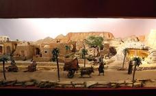 Un belén recrea Petra y el próximo oriente en Las Francesas de Valladolid