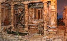 Belén en la iglesia de las Angustias de Valladolid