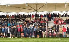 Éxito completo del torneo de rugby contra la violencia de género