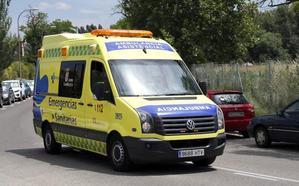 Herida una mujer tras ser atropellada por un turismo en Palencia