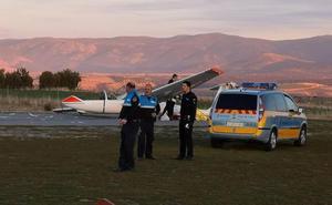 Muere el gerente del aeródromo de Fuentemilanos al ser golpeado por el ala de una aeronave