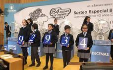 El sorteo de la Constitución de la Lotería deja parte del primer premio en Chañe