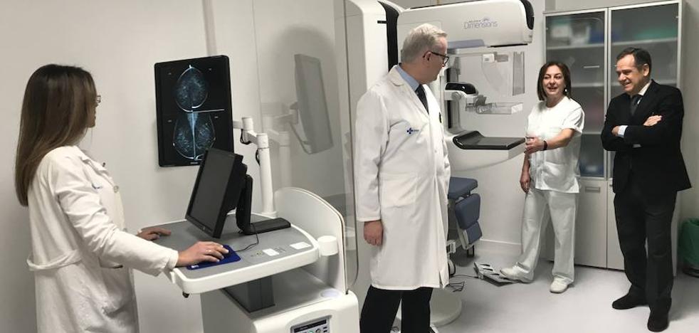 El hospital de Medina del Campo incorpora un mamógrafo 3D de última generación