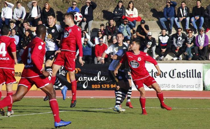 Unionistas de Salamanca vs Deportivo Fabril