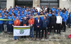 La cantera del CD Carbajosa realiza una convivencia en Portugal