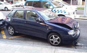 Siete colisiones, cuatro heridos y un atropello mortal, durante el puente en Palencia