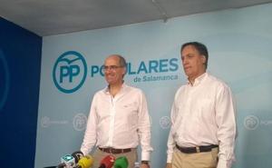 Iglesias pide a Cs que opte por la estabilidad y la tranquilidad para Salamanca