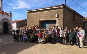 Cilleros de la Bastida rinde honores a Santa Lucía