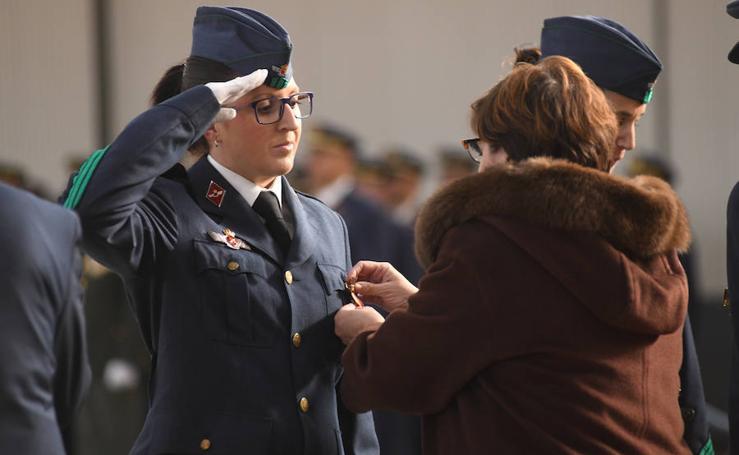 Acto en honor a la patrona en la Base Aérea Militar en Villanubla