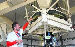 Un telescopio con nombre y apellidos vallisoletanos