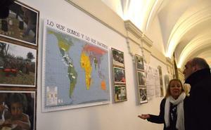 La UPSA muestra con fotografías proyectos de cooperación cofinanciados por el Ayuntamiento que se han hecho realidad