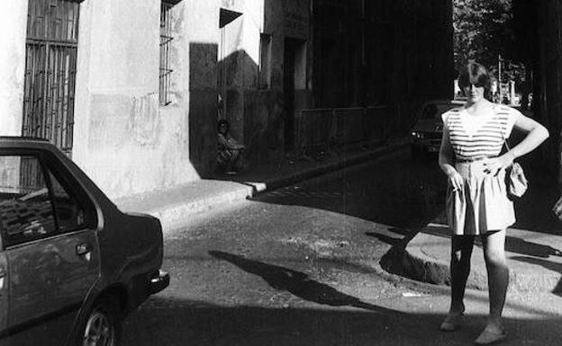 Resultado de imagen de barcelona vieja años 60 barrio chino