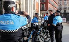 La Policía Municipal de Valladolid estrena diez bicicletas eléctricas