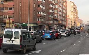 La Policía de Valladolid recomienda utilizar itinerarios alternativos al paseo Arco de Ladrillo