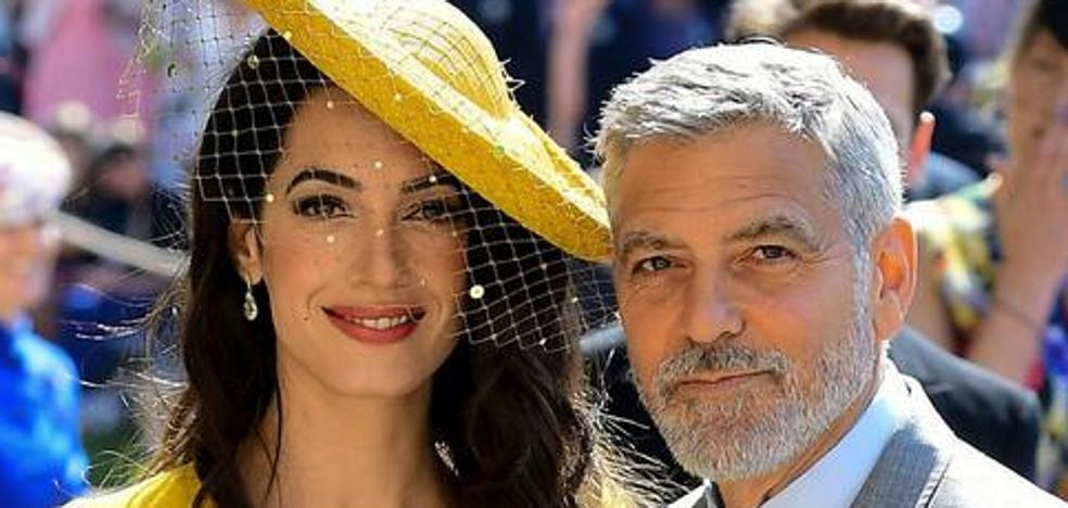 Los Clooney muestran por primera vez a sus gemelos