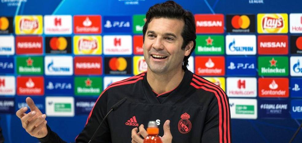 Solari: «El vestuario del Real Madrid es grande y humilde»