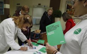 Las 4,3 enfermeras por cada mil cartillas de Palencia suponen la mitad que en el entorno europeo