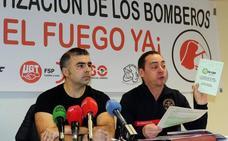 Los bomberos denuncian la «privatización» del servicio en Castilla y León, a excepción de Valladolid