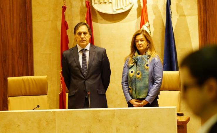 Toma de posesión de Carlos García Carbayo como alcalde en funciones de Salamanca
