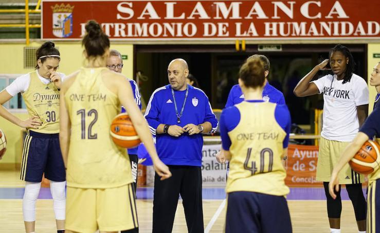 Entrenamiento del Dynamo de Kursk en Salamanca