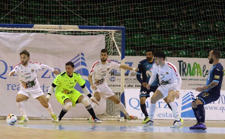 Derrota de Naturpellet Segovia ante el Inter en la Copa del Rey (1-7)