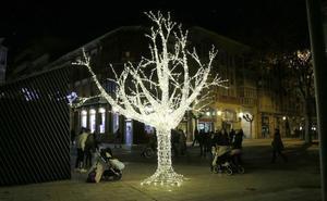 La iluminación navideña de Palencia «está alejada del siglo XXI», inciden los comerciantes