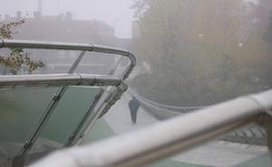 Día de niebla en Valladolid