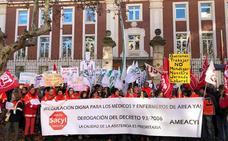Los médicos y enfermeros de área denuncian en los servicios mínimos «abusivos» impuestos para la huelga que arranca el 21 de diciembre