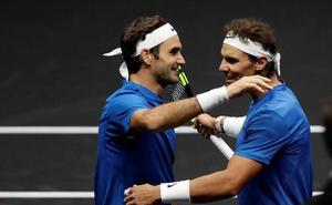 Nadal y Federer jugarán la tercera edición de la Copa Laver