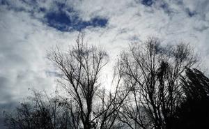 La borrasca Flora se alejará el viernes por la tarde de Valladolid y dejará un fin de semana lluvioso y templado