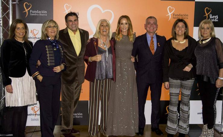 Cena solidaria navideña de la Fundación Sandra Ibarra en Valladolid