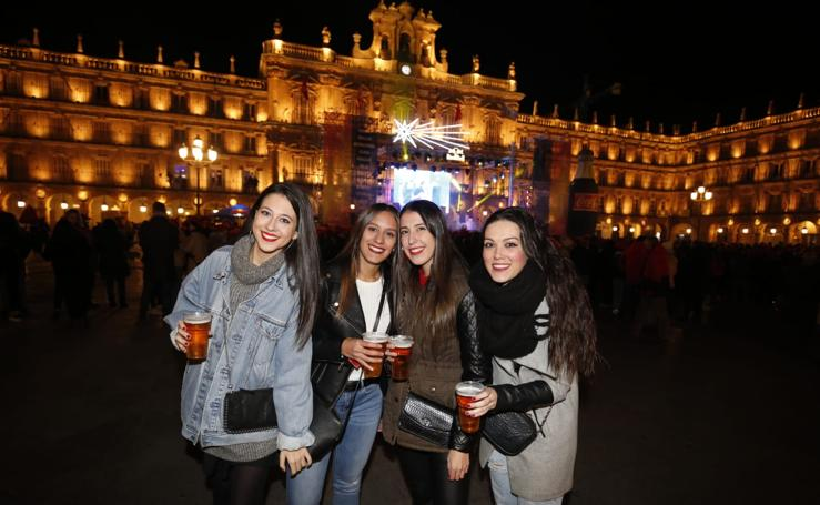 Salamanca celebra su fiesta de nochevieja universitaria