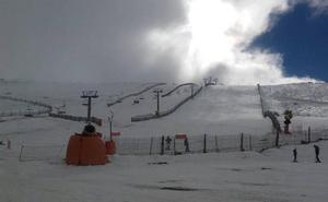 La estación de La Covatilla registra la temperatura más baja del país con -4,4 grados