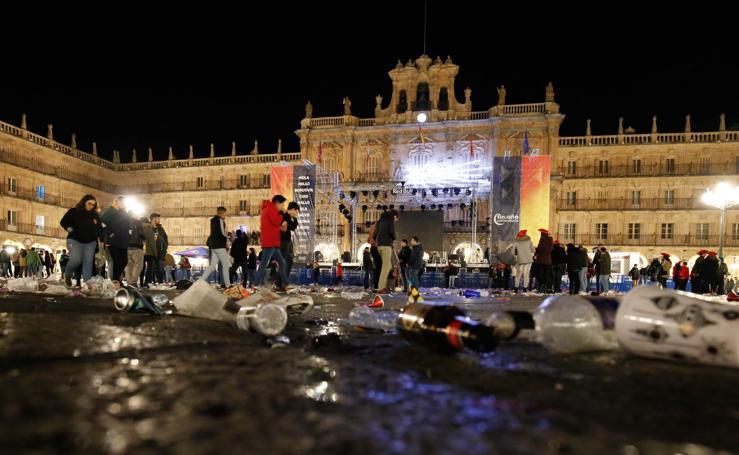 La resaca del Fin de Año Universitario de Salamanca