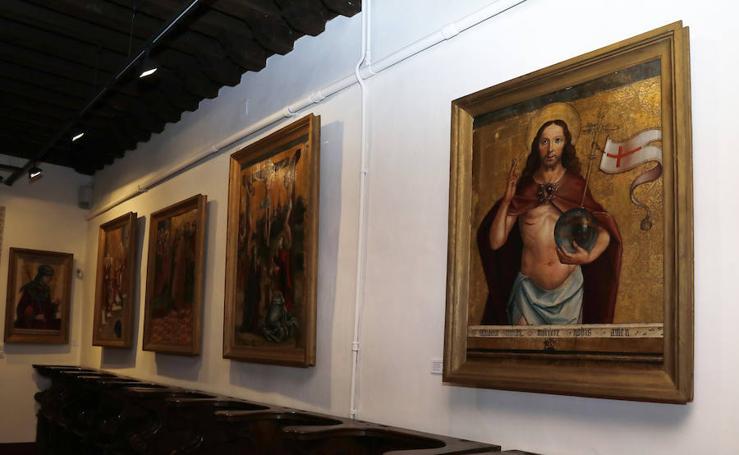 Las obras de Las Edades del Hombre en Aguilar vuelven a casa