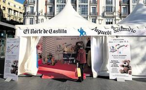 La carpa del Juguete Solidario de El Norte de Castilla comienza a recoger juguetes
