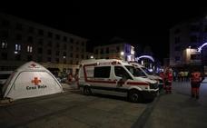 La Cruz Roja atendió a 20 personas durante el Fin de Año Universitario