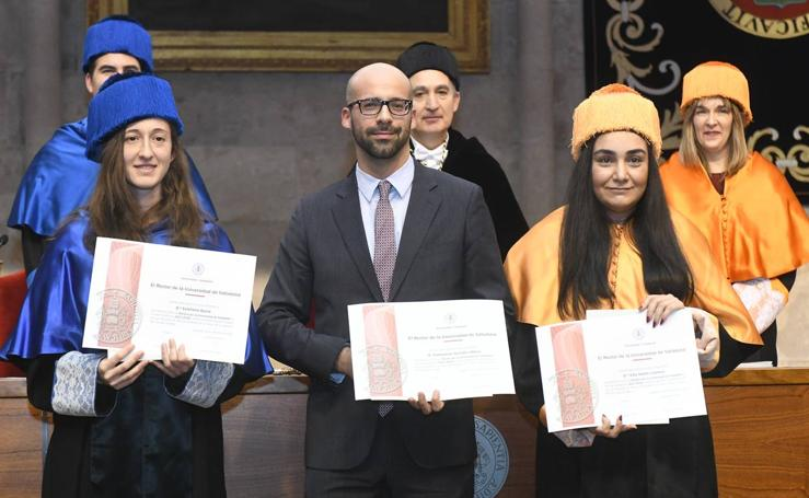 La Universidad de Valladolid celebra el Día del Doctor