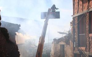 Segundo incendio en seis días causado por una chimenea, esta vez en El Espinar