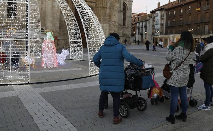 Feria de la Navidad en la plaza de la Inmaculada