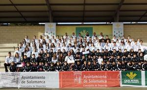 El Club Caja Rural Atlético Salamanca luce a sus atletas en Las Pistas del Helmántico