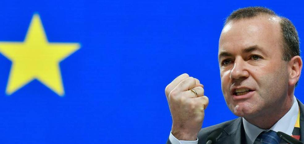 Weber es el elegido, Barnier el deseado