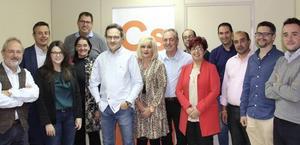 Ciudadanos refuerza su estructura en Palencia con un comité provincial