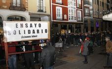 La procesión más solidaria de la Sentencia de Palencia