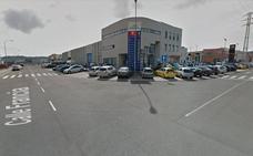 Heridas cuatro personas, entre ellas una menor, en una colisión de dos turismos en Palencia