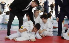 Trescientos niños participaron en la quinta edición de la Fiesta del Judo de Quintanilla de Onésimo