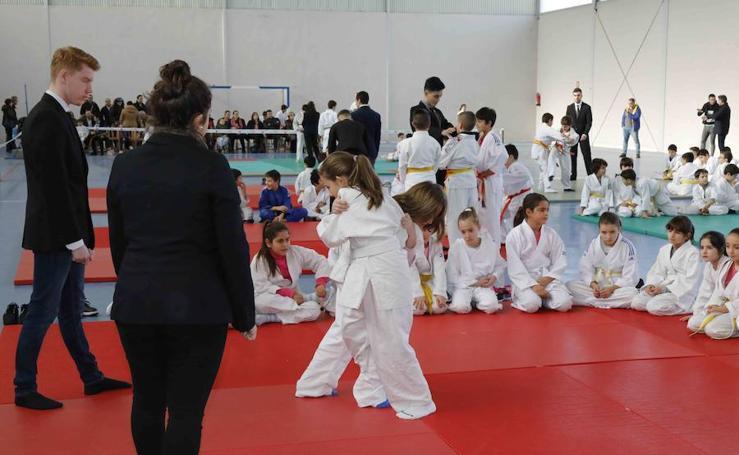 Fiesta del Judo en Quintanilla de Onésimo
