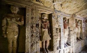 Egipto anuncia el hallazgo de una tumba «única» de 4.400 años de antigüedad